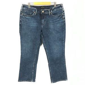 Silver suki jeans sz 14x23.5
